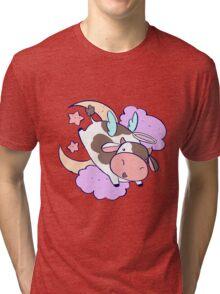 Cute Angel Cow Tri-blend T-Shirt