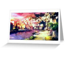 Grimgar of Fantasy and Ash - Town Greeting Card