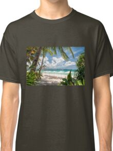 Boracay Beach under Clear Sky  Classic T-Shirt