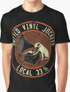 United Vinyl Jockeys Graphic T-Shirt