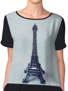 A Word About Paris  Chiffon Top