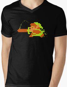 Link in action Mens V-Neck T-Shirt