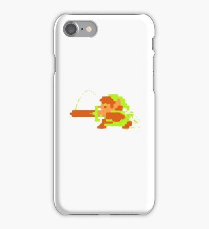 Link in action iPhone Case/Skin