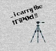 i carry the tripod Womens Fitted T-Shirt