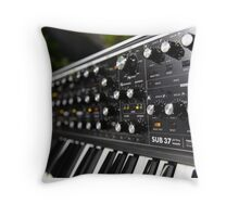 Moog Music Throw Pillow