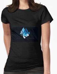 Natural History Fish Histoire naturelle des poissons Georges V1 V2 Cuvier 1849 064 Inverted Womens Fitted T-Shirt