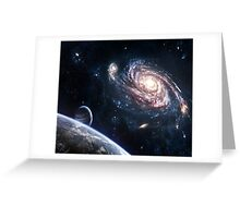 THE SILENCE OF UNIVERSE Greeting Card