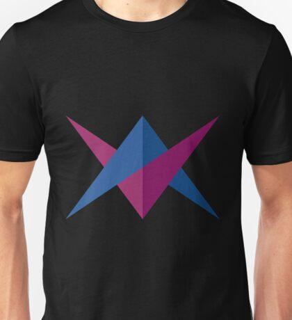 Doble Triangulo Unisex T-Shirt