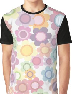 Seamless Flower Pattern 1 Graphic T-Shirt