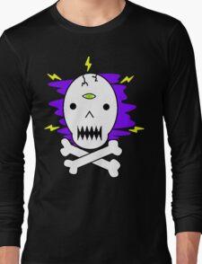 Misty Skull Long Sleeve T-Shirt