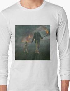 Visions of Smoke Long Sleeve T-Shirt