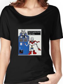 Undertale TARDIS Women's Relaxed Fit T-Shirt