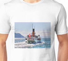 'La Suisse' on Lake Geneva, Switzerland Unisex T-Shirt