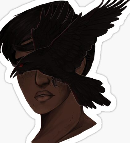 raven goggles Sticker