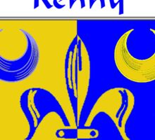 Kenny Coat of Arms/Family Crest Sticker