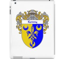 Kenny Coat of Arms/Family Crest iPad Case/Skin