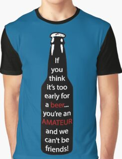 A message in the beer  Graphic T-Shirt