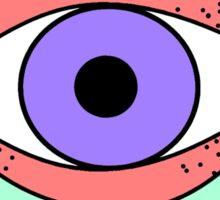 Eye In The Cloud II Sticker