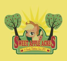 Sweet Apple Acres One Piece - Short Sleeve