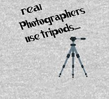 photographers use tripods Unisex T-Shirt