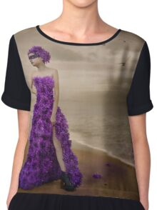She Came from the Sea Chiffon Top