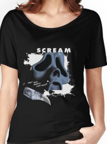 Ghostface Women's Relaxed Fit T-Shirt