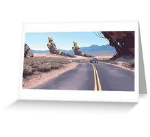 Highway Patrolman Greeting Card