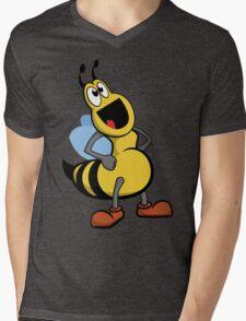 Glubee Mens V-Neck T-Shirt