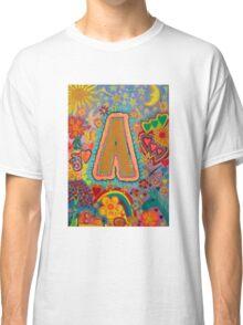 Initial A Classic T-Shirt