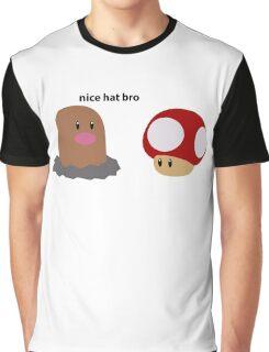 Nice Hat Bro Graphic T-Shirt