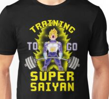 Training To Go Super Saiyan (Vegeta Deadlift) Unisex T-Shirt
