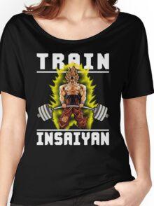 TRAIN INSAIYAN (Deadlift) Women's Relaxed Fit T-Shirt