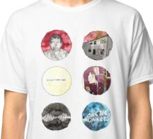 Arctic Monkeys Album Watercolour Doodles Classic T-Shirt