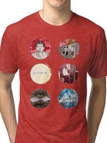 Arctic Monkeys Album Watercolour Doodles Tri-blend T-Shirt