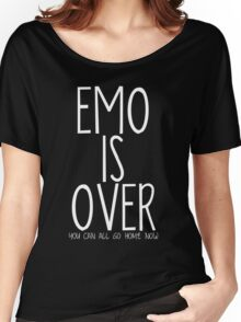 FOB/Humour - Emo Is Over Women's Relaxed Fit T-Shirt