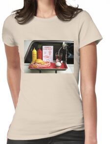 1950's Drive-in Womens Fitted T-Shirt