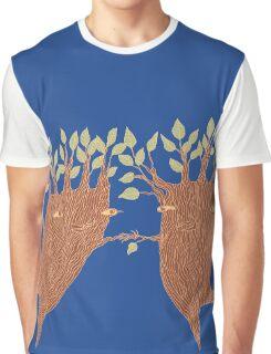 Dancing Trees Graphic T-Shirt