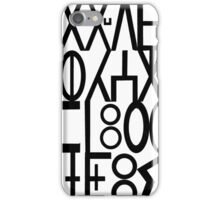 ancient languages  iPhone Case/Skin