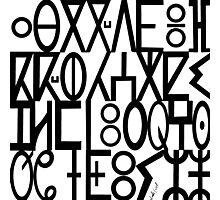 ancient languages  Photographic Print