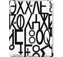 ancient languages  iPad Case/Skin