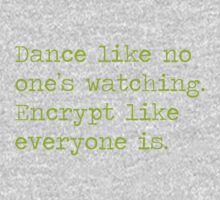 Dancing and encrypting Kids Tee