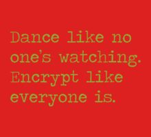 Dancing and encrypting One Piece - Long Sleeve