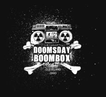 Cleveland Ohio Rock Band - Doomsday Boombox - Full Back Dark by Jeffery Wright