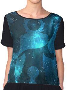Yin Yang (Super Saiyan God) Universe Symbol Chiffon Top