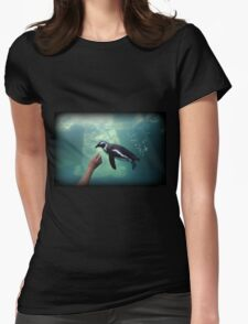 Penguin Play Womens Fitted T-Shirt
