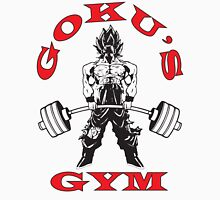 Goku's Gym (Black and Red) Tank Top