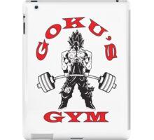Goku's Gym (Black and Red) iPad Case/Skin