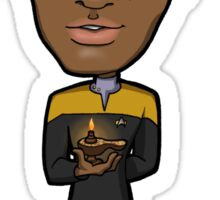Star Trek Voyager - Lieutenant Commander Tuvok the Vulcan Sticker