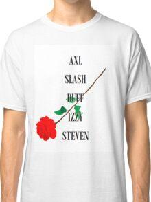 Guns n'Roses Rock Band Fan Art Classic T-Shirt