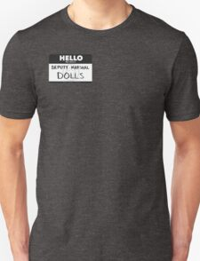 Dolls Tag Unisex T-Shirt